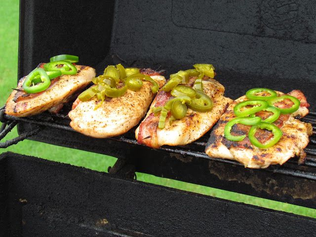 Jalapeno and Cheese Grilled Chicken - Call Me PMc