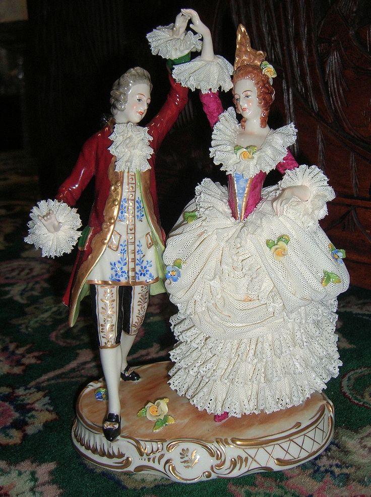 Dresden Porcelain Figure