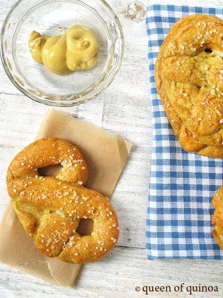 Gluten-Free Soft Pretzels. | Food ideas | Pinterest