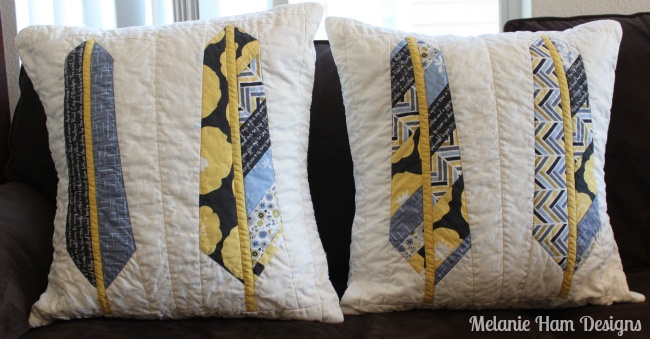 My Anna Maria Horner feather pattern pillows for the Madrona Road ...