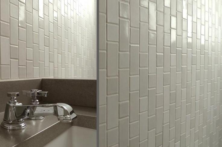 Gloss matt kitchen pinterest for Matte bathroom tiles