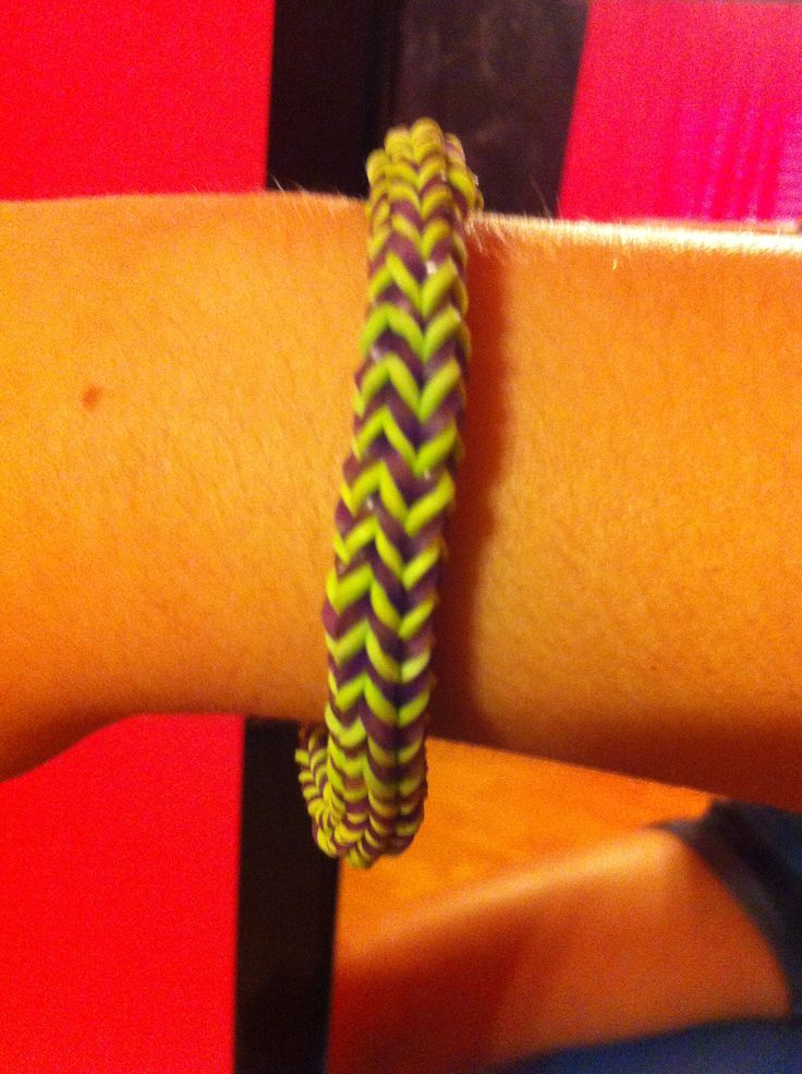 hexafish rainbow loom bracelet diy pinterest