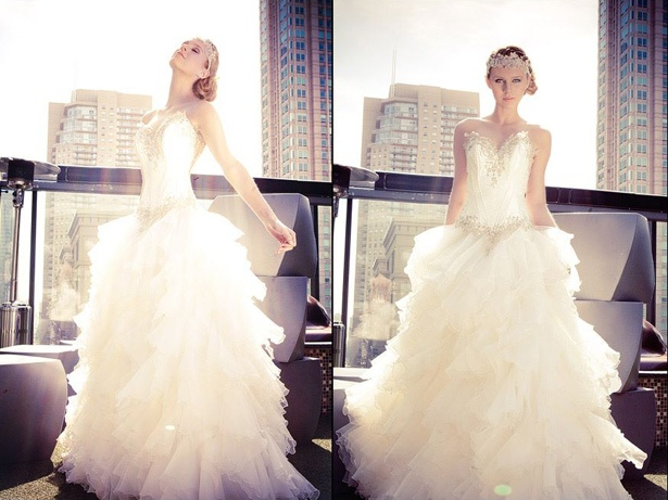 Hair & Makeup by VIP Chicago Brides Team http://www.vipchicagobrides.com