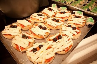 Pizza Mummies! | Halloween! | Pinterest