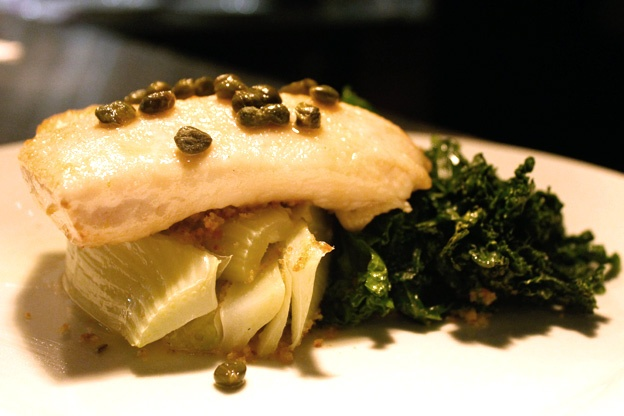Sauteed Kale With Garlic, Shallots, And Capers Recipe — Dishmaps