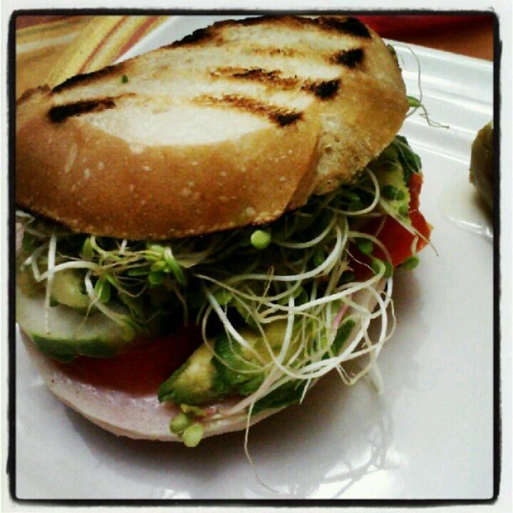 Turkey n veggie sandwich | My Very Own foods, drinks, deco. | Pintere ...