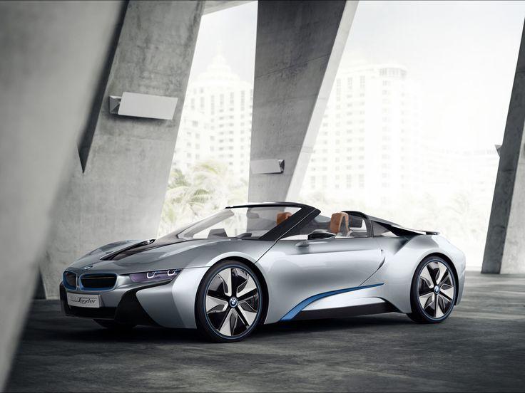 '12 BMW i8 Spyder