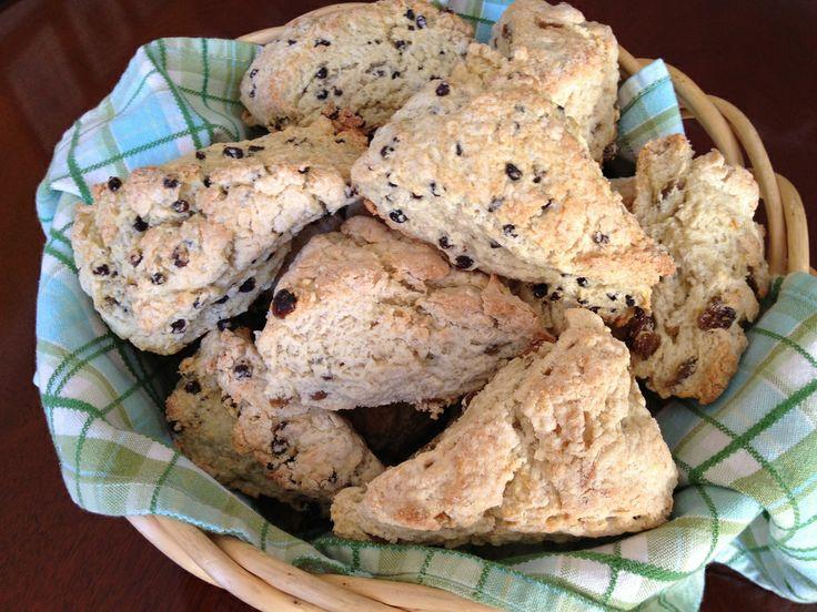 Oatmeal, Honey And Raisin Scones | Breakfast, I Love You | Pinterest