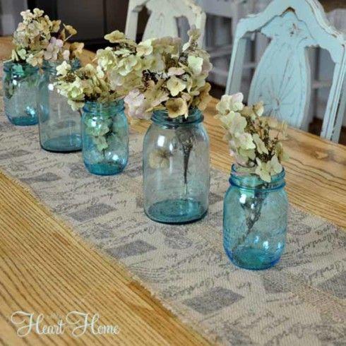 Runner  ribbon Easy hobby table w/ Table DIY @Hobby  Parent Lobby Ribbon lobby Burlap  from runner