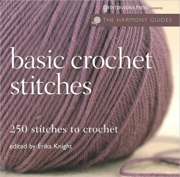 Different Crochet Stitches : Harmony Guides: Basic Crochet Stitches