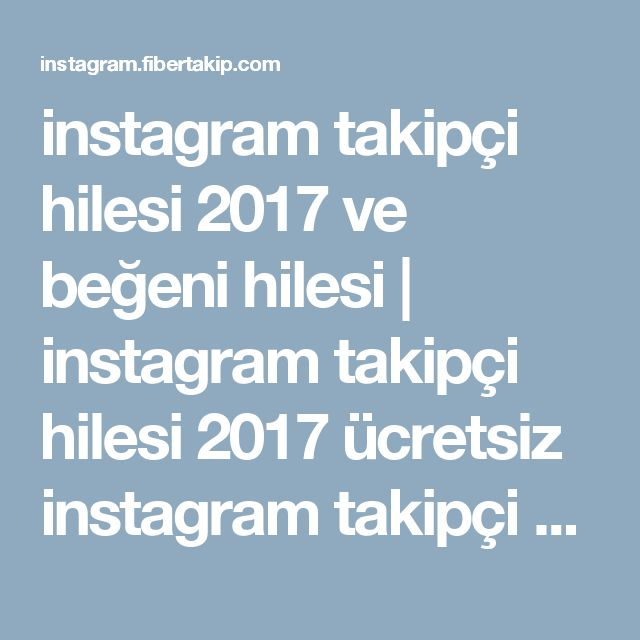 11 best images about instagram takipçi hilesi - instagram begeni ...