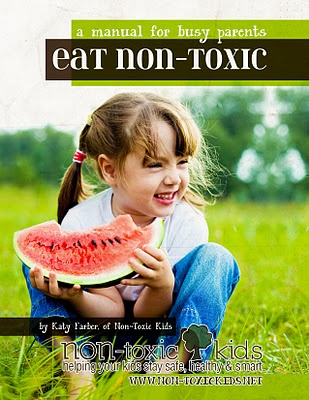 My ebook called Eat Non-Toxic: a manual for busy parents.