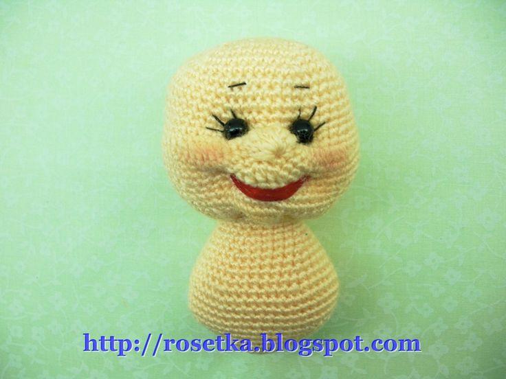Crochet Amigurumi Faces : Pin by Marlene McKinney on Amigurumi instructions Pinterest
