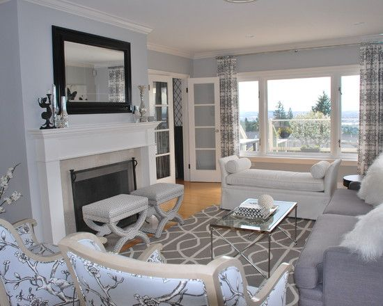 Living Room Ideas with Gray Walls 550 x 440