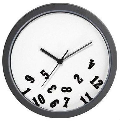 Clock with Numbers Falling Off | clock with numbers falling off