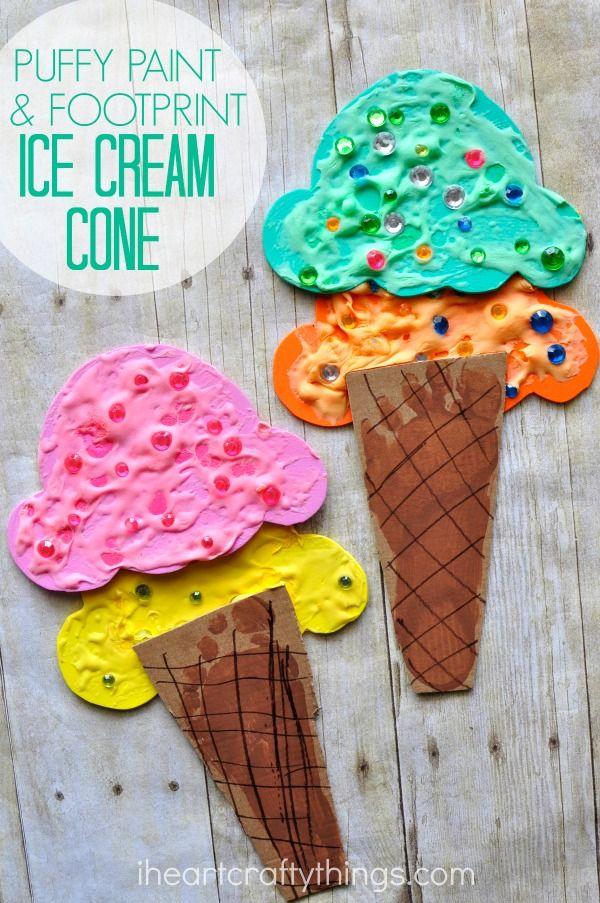 Поделки с детьми мороженое 45