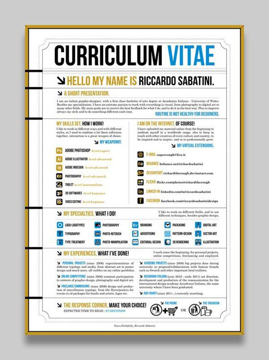 Picture-12 ( 26 Brilliant and Colorful Resume Designs that will make you rethink