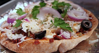 Pita Pizza | NO! I don't only think about food...just mostly | Pinte ...