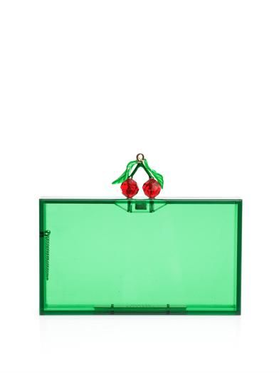 Shop now: Charlotte Olympia Cherry Pandora Clutch