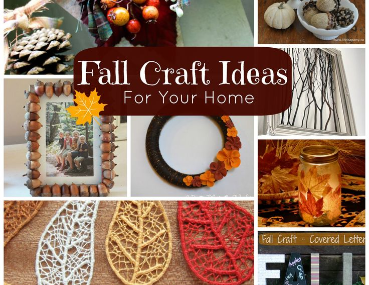 Fall ideas diy craft pinterest for Fall diy crafts pinterest