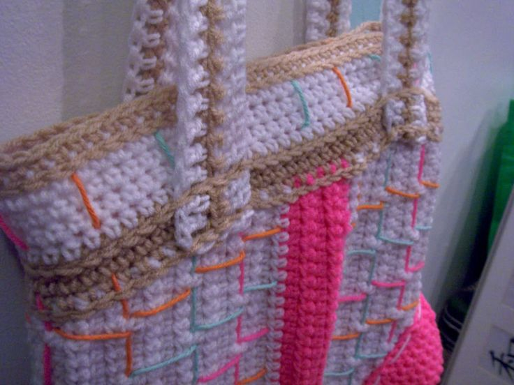 Free Crochet Purse Patterns With Wooden Handles : Found on crochetut.net