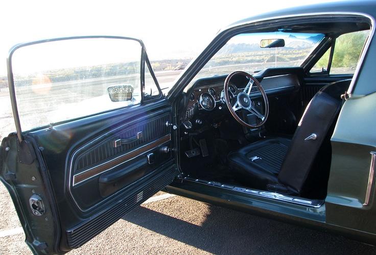 1968 Mustang Fastback Interior Mustang 68 70 Pinterest