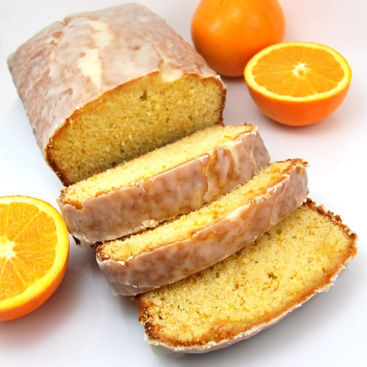 Orange Pound Cake - this would be a great summer dessert or with a ...