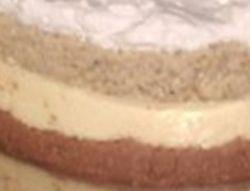 Milka torta 2- nepecena sa plazmom