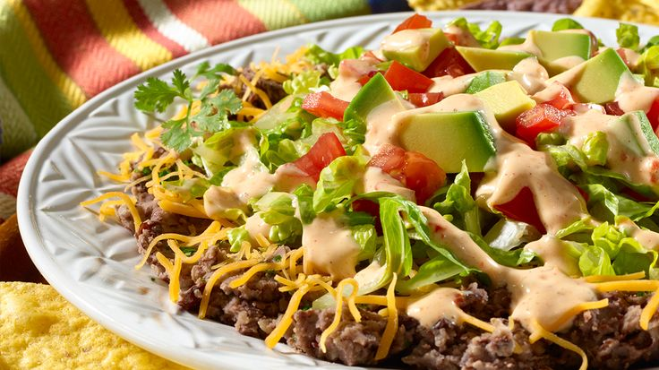 ... , flavorful Wish-Bone® recipe: South-of-the Border Layered Taco Dip