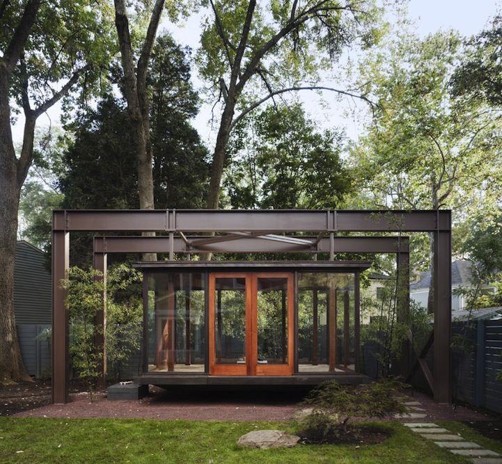 Floating Japanese Tea House Backyard Pinterest