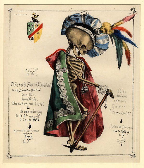 Le Comte D'Averton Mort-né, Eugène-Hippolyte Forest, 1831