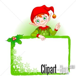 CLIPART CHRISTMAS FAIRY FRAME | CLIPARTS | Pinterest