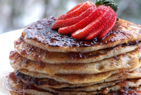 Berry Nice Honey Pecan Pancakes   Pancakes   Pinterest