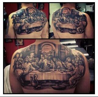 Last Supper Tattoo Love  Tattoos Pinterest