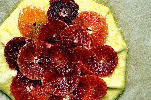 blood orange tart, to the freezer by smitten, via Flickr