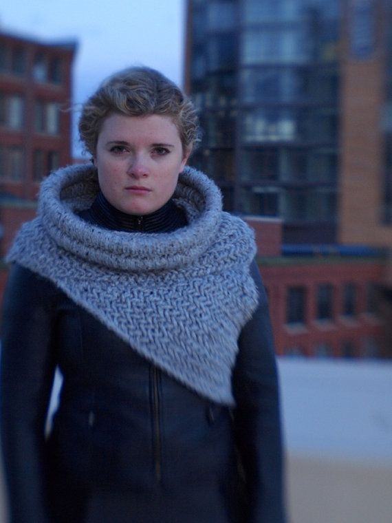 Katniss Inspired Cowl Knitting Pattern : Katniss Cowl/Shawl/Vest Inspired by The Hunger Games NEW YEARS
