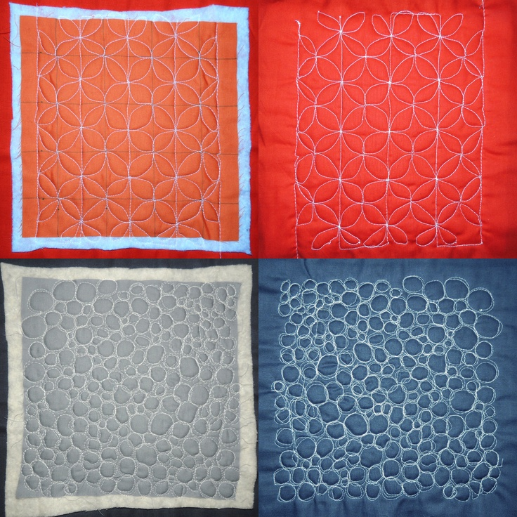 Free Motion Quilting Patterns Quilting Pinterest