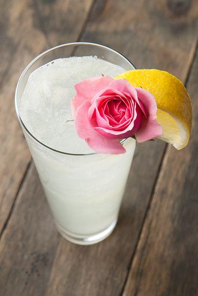 rose water lemonade | Drink. Summery Sippers | Pinterest