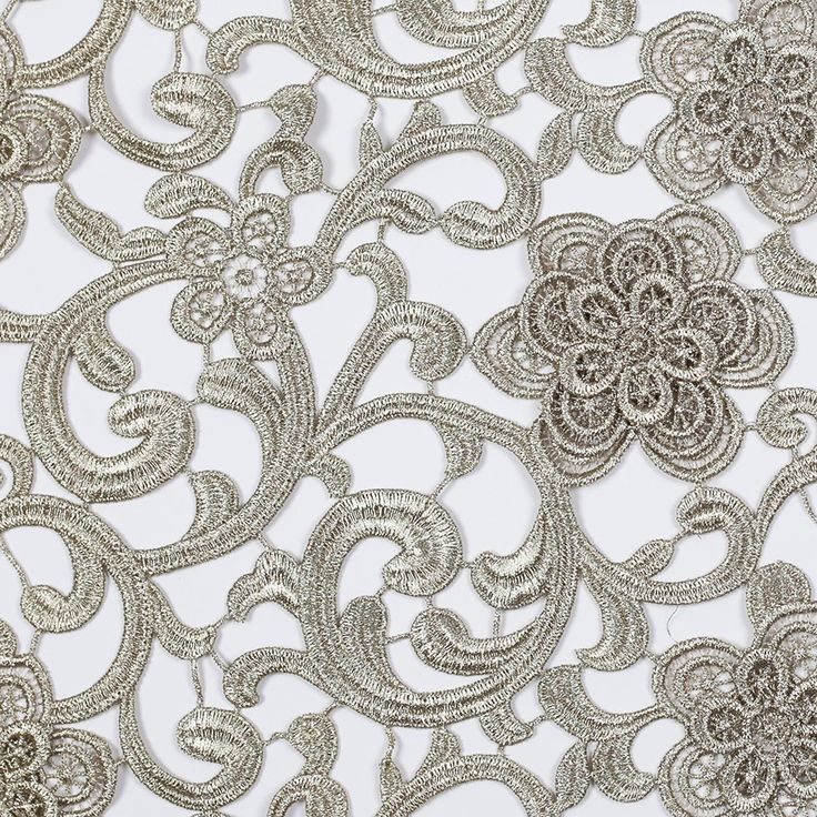 ... Gold Couture Dimensional Floral Guipure Lace Fabric - Fashion Fabrics