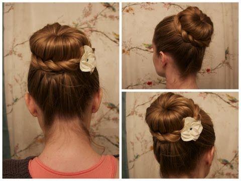 Crochet Hair Bun. - YouTube Virkade/stickade accessoarer Pinter ...