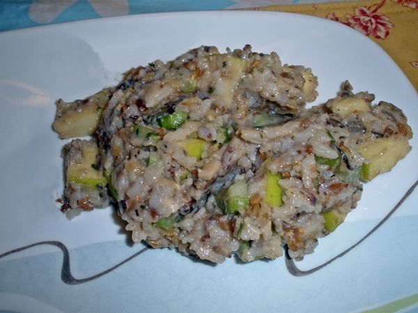 Apple & Walnut Wild Rice Salad recipe | Simple-Food-Solutions.com Rec ...