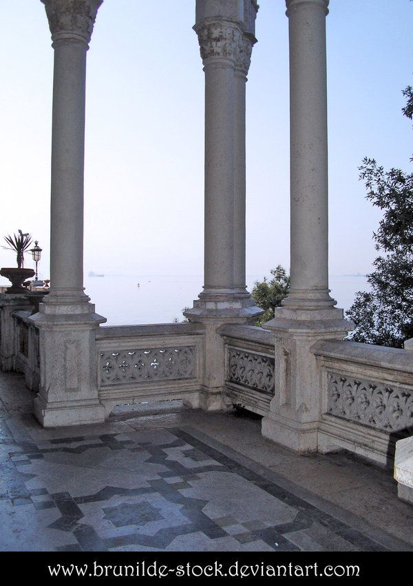 Miramare's Castle - Balcony 8 by brunilde-stock.deviantart.com on @deviantART