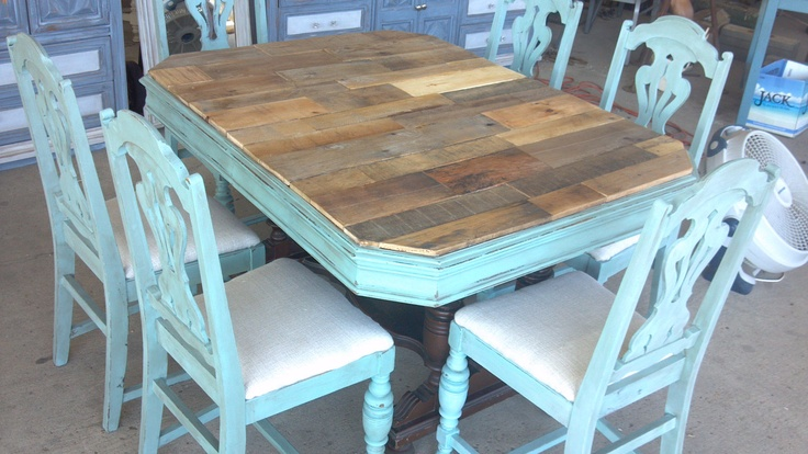 Beautiful Pallet Wood Dining Table Via Etsy House Ideas