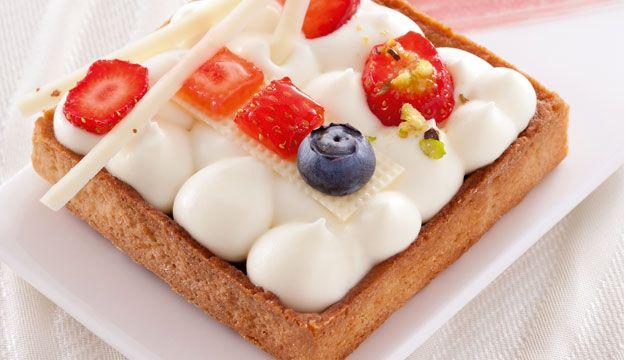 Tartelette Zéphyr™ été | pâtisseries recette | Pinterest