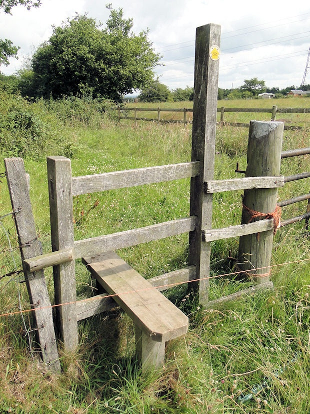 A typical English fence stile Gardens Pinterest