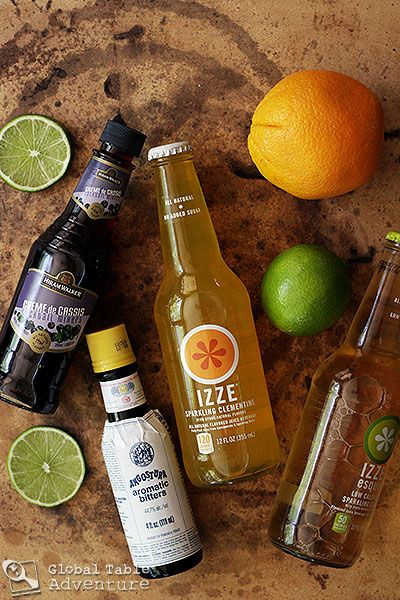 Nigerian Chapman Cocktail | Recipe