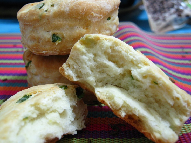 Scallion biscuits | Biscuits | Pinterest