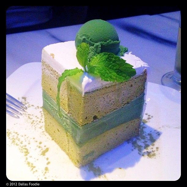 Green Tea Ice Cream #Cake @TheMintDallas has been one of my favorite #desserts in #Dallas for the last 4 years.