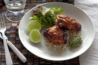 Tandoori chicken with mint-yoghurt sauce | Daily life smh | Pinterest