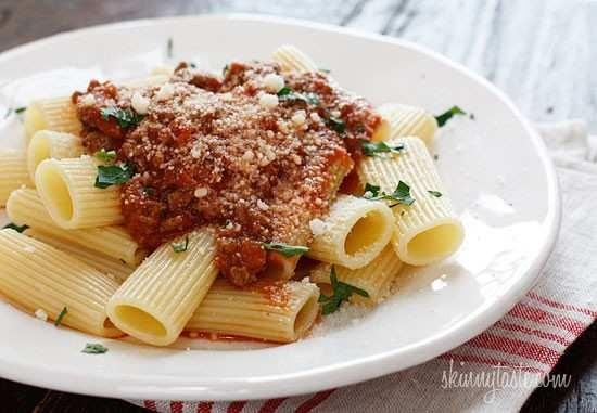 crock pot bolognese sauce. | Food for thought | Pinterest